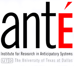 antÉ – Institute for Research in Anticipatory Systems Logo